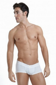 L' Homme Invisible Sensitive V-Boxer white